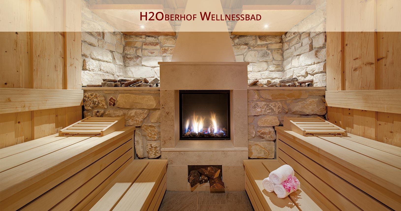 H2Oberhof Wellnessbad in Oberhof, Kaminsauna für den Urlaub für Paare