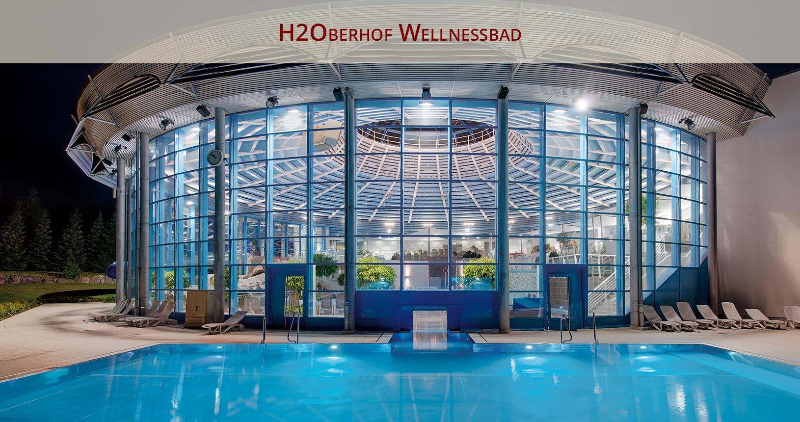 H2Oberhof Wellnessbad Oberhof, Aussenpool für den Paarurlaub
