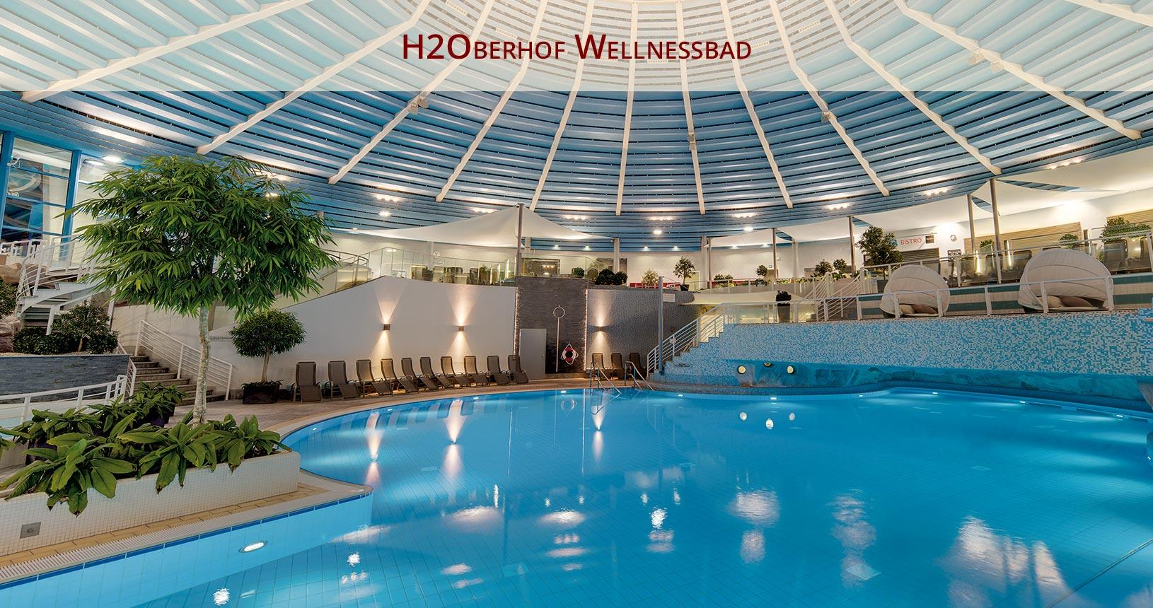 H2Oberhof Wellnessbad, Schwimmbad für den Paarurlaub