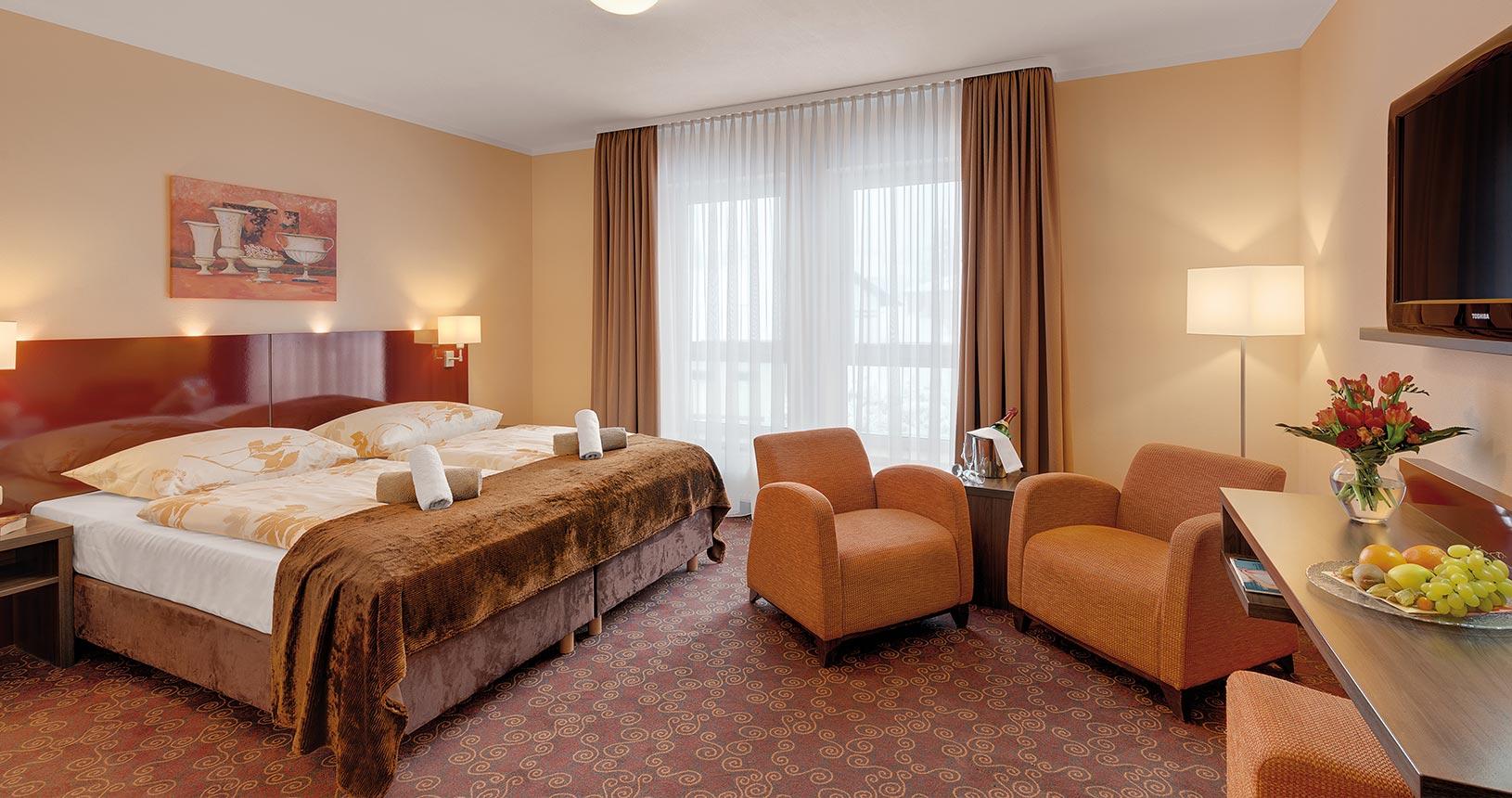 Ansicht Premium Zimmer im Schlossberghotel Oberhof | Urlaub für Paare