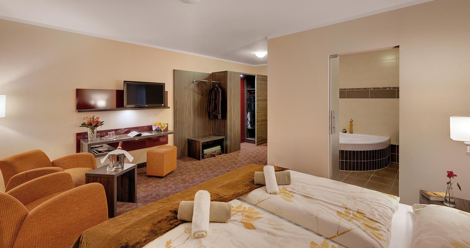 Hotelzimmer Premium im Schlossberghotel Oberhof | Urlaub für Paare