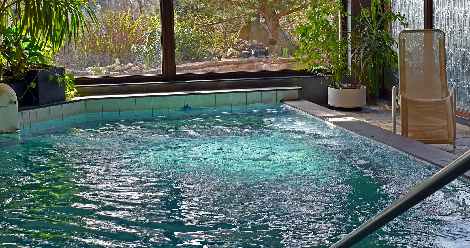 Schwimmbad im Schlossberghotel Oberhof | Urlaub für Paare