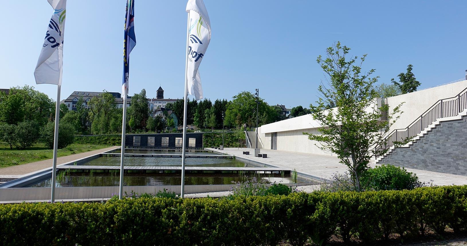 Oberhof Kurpark im Sommer